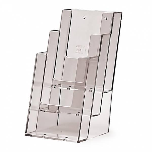 Tischaufsteller für DIN lang (1/3 A4), 3-stufig