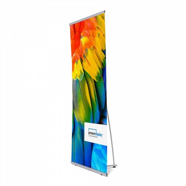 Banner Display mit Tasche 90x200 cm