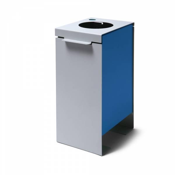 Mülleimer Trennung blau