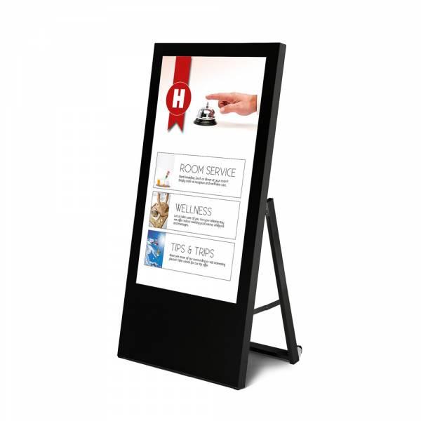 Digital Signage - Digitaler Kundenstopper Economy