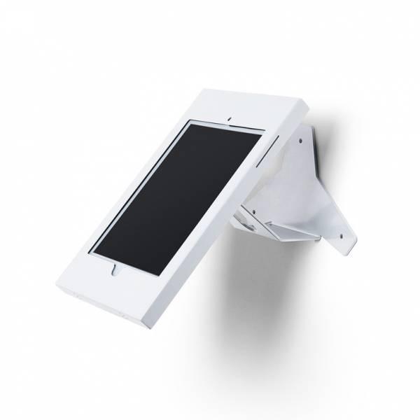 Slimcase Tablet-Halter, Wandmontage mit Neigung, weiß