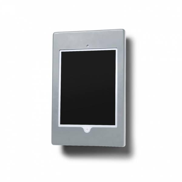 Slimcase Tablet-Halter, Wandmontage, silber