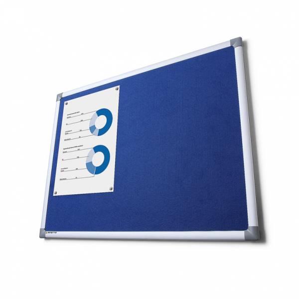 Pintafel Filz 100x200, blau
