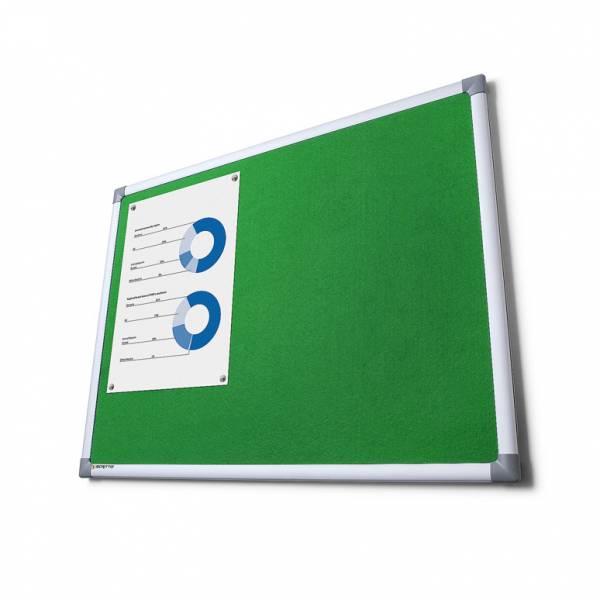 Pintafel Filz 90x180, grün
