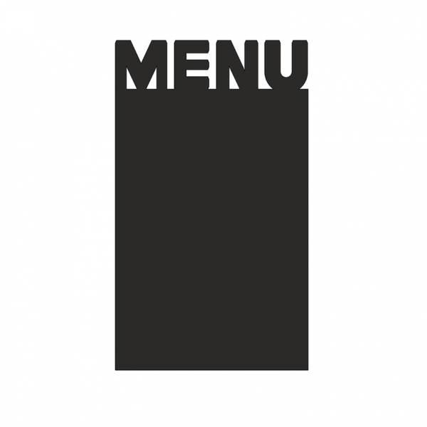 Kreidetafel-Aufsteller Menü