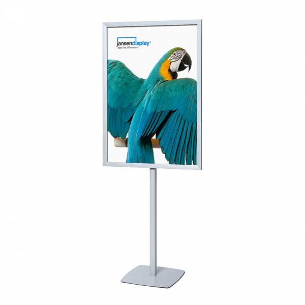 Infoständer A4, Design CUBE