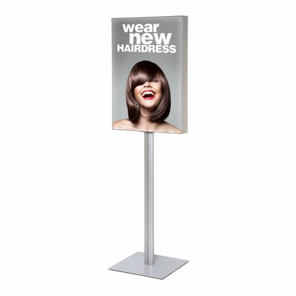 LED Fabric Frame Info Pole