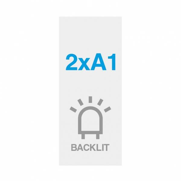 Premium Backlit PP Folie 200g/m2, Satin Oberfläche, 594x1682mm(2xA1)