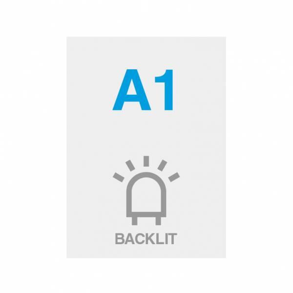 Premium Backlit PP Folie 200g/m2, Satin Oberfläche, A1 (594x841mm)
