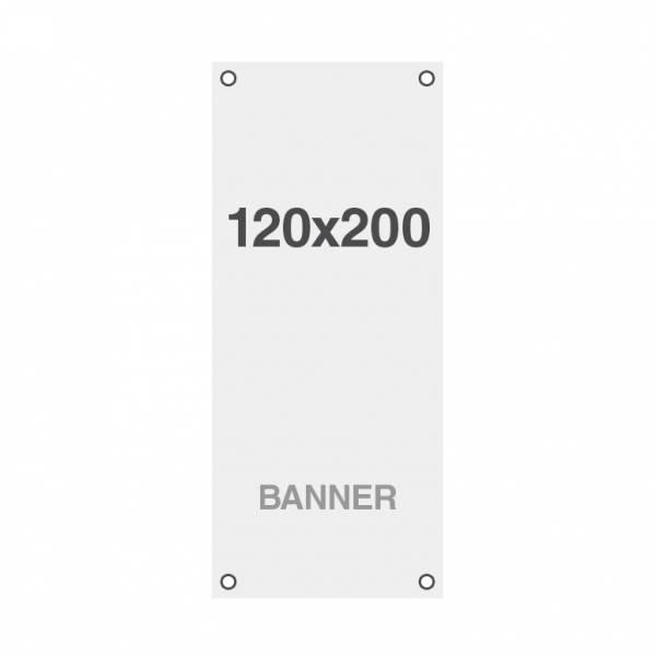 Banner Symbio 510g/m2,1200x2000mm, mit Ösen
