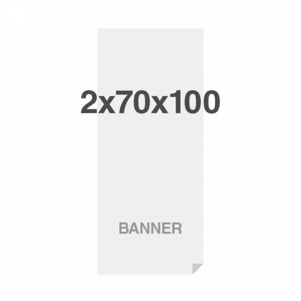 Premium Banner No-curl PP Folie 220g/m2, matte Oberfläche, 700x2000mm