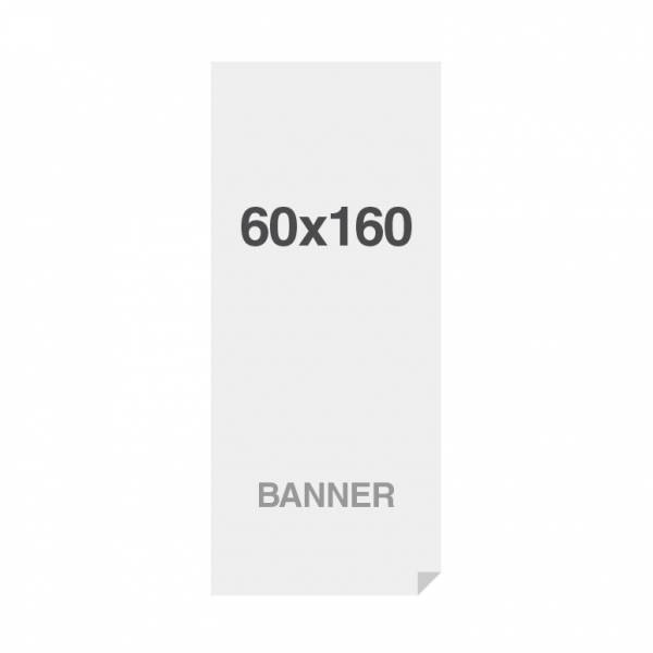 Premium Banner No-curl PP Folie 220g/m2, matte Oberfläche, 600x1600mm