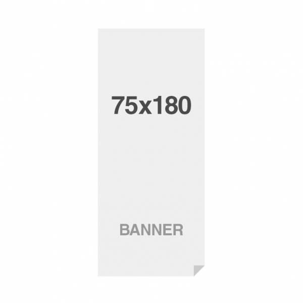 Premium Banner No-curl PP Folie 220g/m2, matte Oberfläche, 750x1800mm
