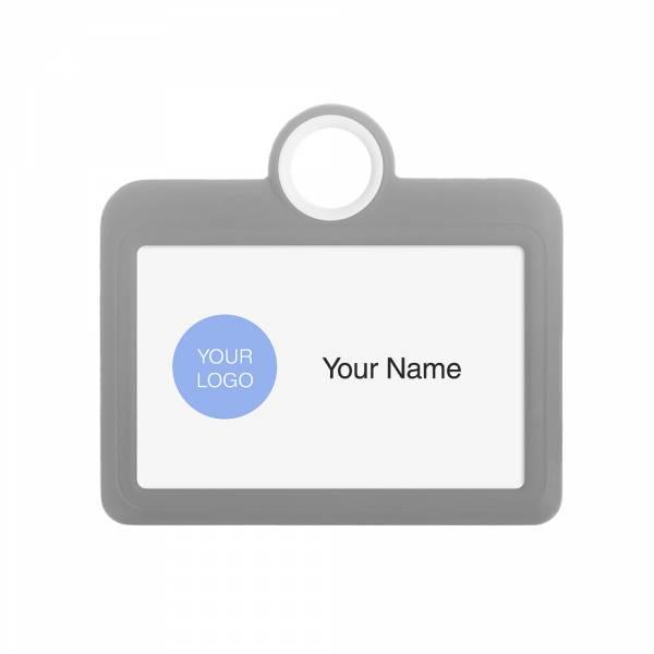 ID Karte, 85x54 grau