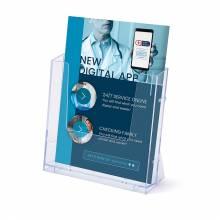 A4 Spritzguss-Prospekthalter Wand