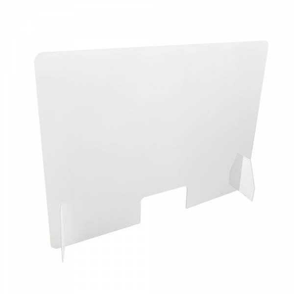 Basic Schutzwand aus Acrylglas zum Aufstellen