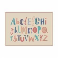 Tischsets Alphabet