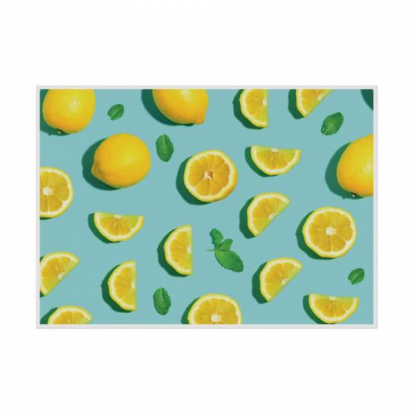 Tischsets Zitronen