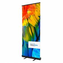 Roll up Economy 85 x 200 cm, schwarz