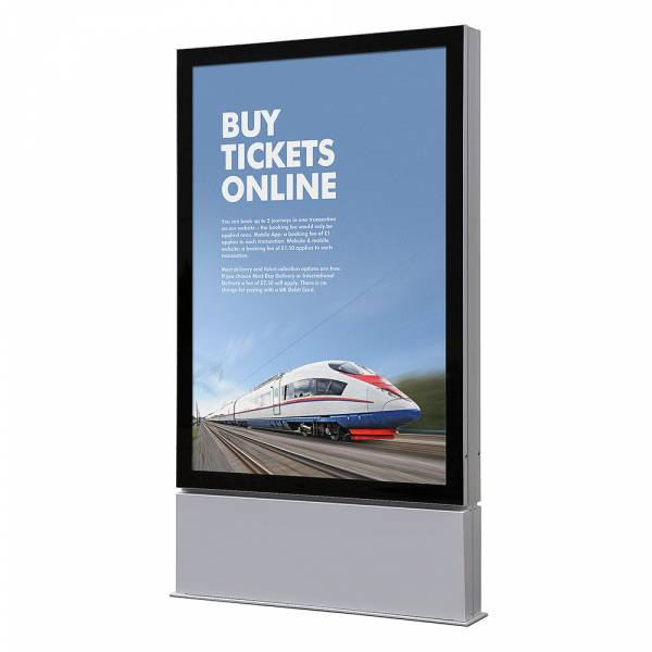 LED Outdoor Premium Poster Schaukasten 1200x1800