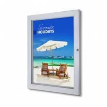 Abschließbarer Plakatschaukasten Premium (50x70)