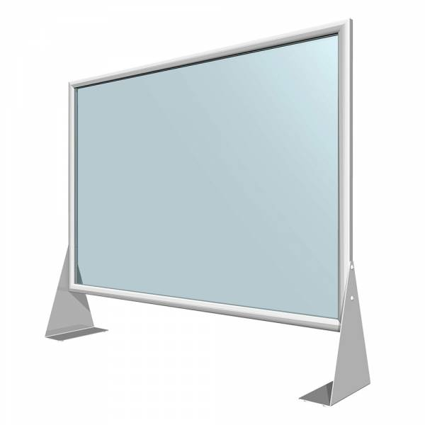 Slide IN frame protective wall, acrylglass 70x100cm