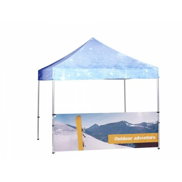 Tent Prints Half Wall Inside