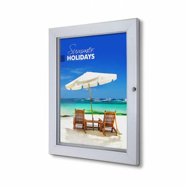 Abschließbarer Plakatschaukasten Premium (DIN A2)