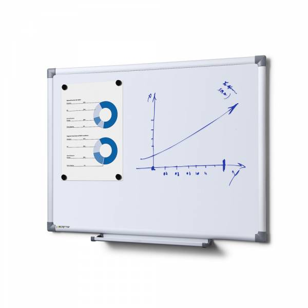 Whiteboard SCRITTO Emaille, 60x45