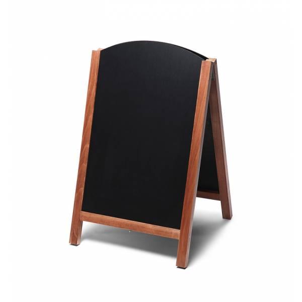 Gehwegtafel Holz, Top, teak, 55x85